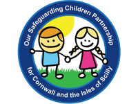 Cornwall and the Isles of Scilly Safeguarding Children Partnership logo
